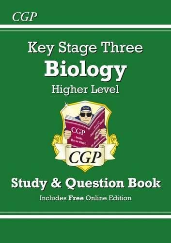 KS3 Biology Study & Question Book - Higher (CGP KS3 Science)