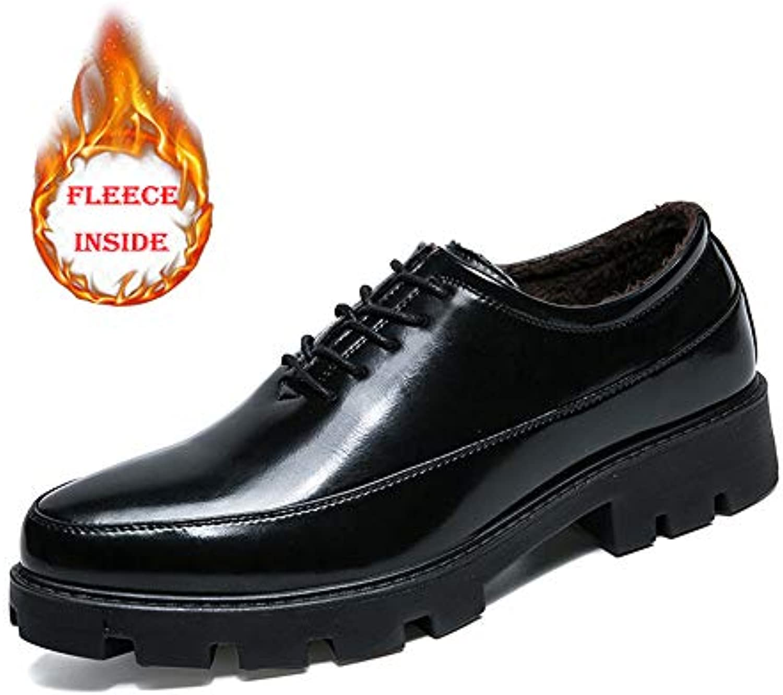 Jiuyue-scarpe, 2018 Oxford da Uomo, da Lavoro Comfort Classic Plus Cotton Warm Scarpe da Cerimonia di Alta qualità...   Sito Ufficiale    Gentiluomo/Signora Scarpa