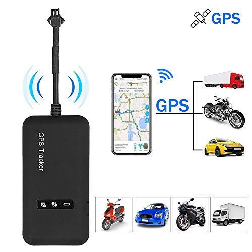GPS Tracker,Positionnement en Temps Réel GPS Tracker,Mini GPS Tracker Facile à Cacher,GPS Tracker pour Voitures GPS Tracker avec Alarme Geofence GPS Tracker Anti-Vol,Mini Localisateur GPS de Voiture