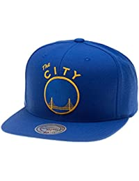 Mitchell   Ness Gorras Golden State Warriors Wool Solid Blue Snapback 5a242eae254
