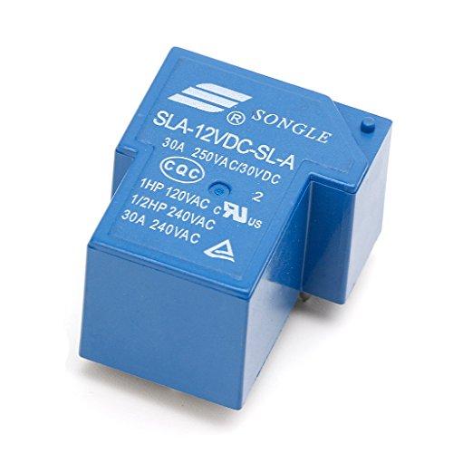 BIlinli 5PIN 12V 30A Power Relays SLA-12VDC-SL-A High Current Coil Power PCB Relay 12vdc Pcb Relay