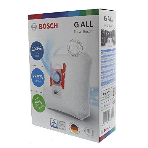 Bosch BBZ41FGALL Staubsaugerbeutel PowerProtect dustbag Type G ALL passend für alle Bosch Bodenstaubsauger (außer BSG8)