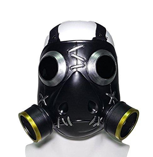 Roadhog Cosplay Maske Hot Game Anime Kostüm Original Design Schwarz Weiches Harz Helm Mako Rutledge Maske Zubehör (Mädchen Cosplay Kostüm Der Comic Con)