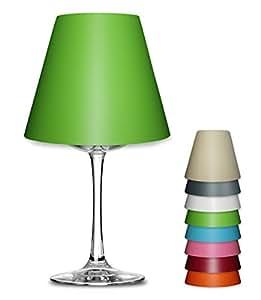 deko lampenschirm uni farben f r weinglas lampe teelicht 1131 rosa k che haushalt. Black Bedroom Furniture Sets. Home Design Ideas
