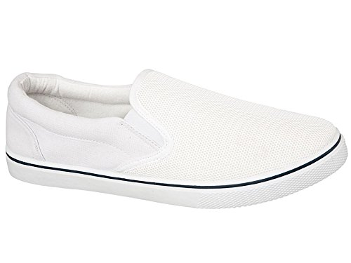Foster Footwear , Baskets mode pour homme White/white