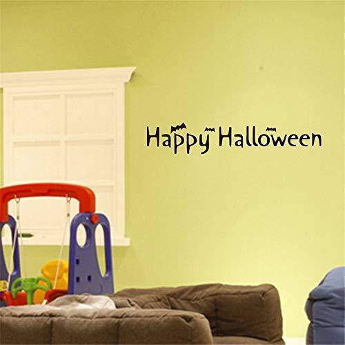 HARRYSTORE Happy Halloween Hintergrund Wandsticker Fenster Zu Hause Dekoration Aufkleber Dekor (Happy Halloween-computer Hintergrund)