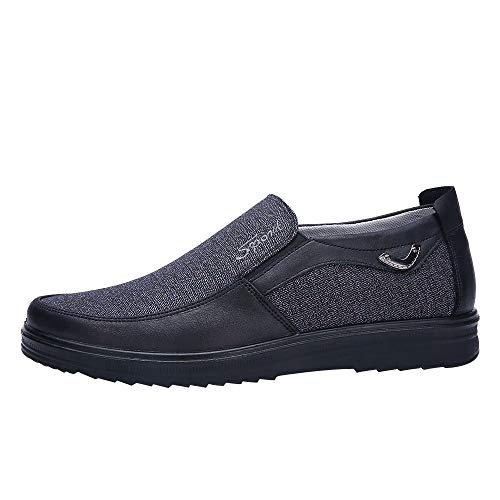 KonJin Slip On Shoes Lightweight Casual Loafers Soft Sole Driving Shoes Low Business Soft Bottom Shoes