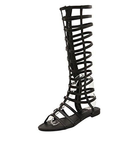 Zoom IMG-1 lvrao donne cerniera sandali gladiatore