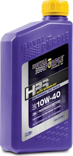 Royal Purple 31140 HPS 10W-40 High Performance Street Synthetic Motor Oil with Synerlec – 1 qt. by Royal Purple pas cher
