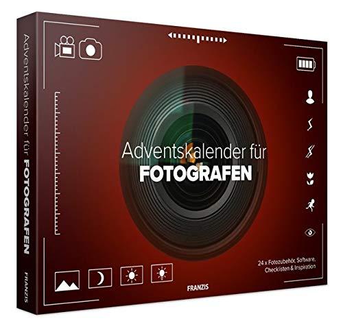 FRANZIS Adventskalender für Fotografen 2019 | 24 Ideen, Zubehör und Software für Ihr nächstes Fotoprojekt | Hinter jedem Türchen eine Überraschung | Ab 14 Jahren