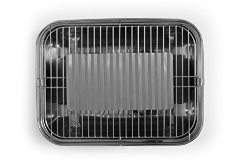Rauchfreier Holzkohlegrill Vergleich : Barbecook rauchfreier holzkohlegrill tischgrill carlo mit