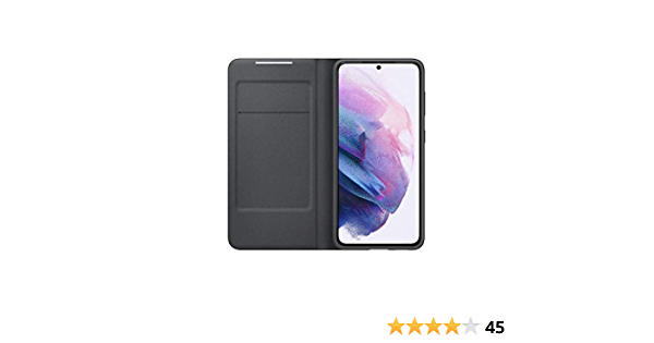 Samsung Led View Cover Ef Ng991 For Galaxy S21 5g Black Elektronik