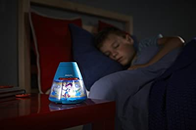 Philips Disney Jake Children's Night Light and Projector (1 x 0.1 W Integrated LED)