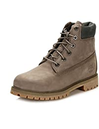 bf1aa6f655 Timberland Youths 6 Inch Classic Premium Nubuck Boots