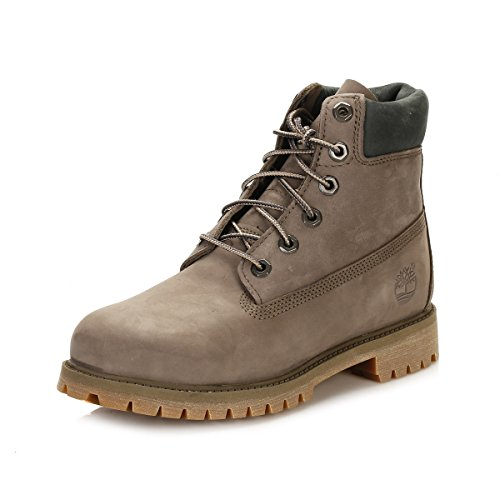Timberland Junior Canteen Grigio 6 Inch Premium Waterproof Stivali-UK 3