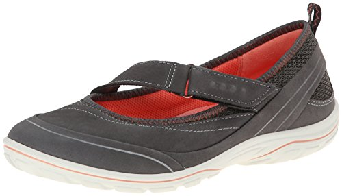 Ecco ARIZONA, Damen Outdoor Fitnessschuhe, Grau (DARK SHADOW/DARK SHADOW/CORAL58926), 38 EU (8 Damen UK)