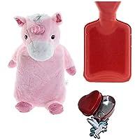Wärmflasche mit Bezug Einhorn 1L Bettflasche Unicorn Wärmeflasche Kuschel Einhorn preisvergleich bei billige-tabletten.eu