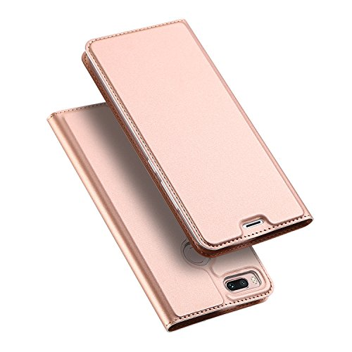 Xiaomi Mi 5X / Xiaomi Mi A1 Hülle, DUX DUCIS Skin Pro Series Ultra Slim Layered Dandy, Ständer, Magnetverschluss,TPU Bumper, Full Body Schutz für Xiaomi Mi 5X / Xiaomi Mi A1 (Rose Golden)