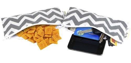 itzy-ritzy-snack-happened-mini-reusable-and-everything-snack-bag-c-gray-chevron-mini-discontinued-by