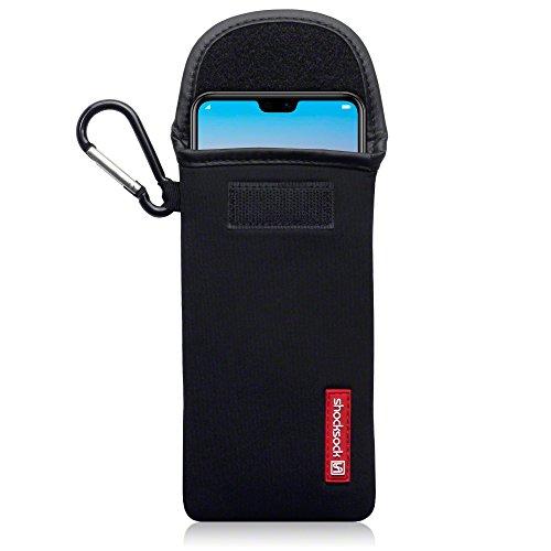Coque-Huawei-P20-Pro-Shocksock-tui-Housse-en-Neoprene-pour-Huawei-P20-Pro-tui-Noir