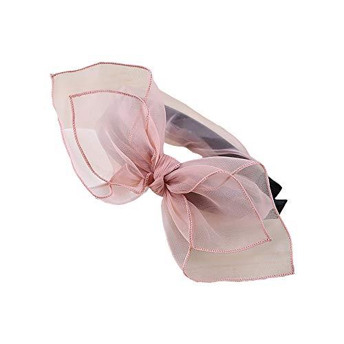 Spitze-Bogen-Stirnbänder, Bantoye 80 Partei Spitze-Haar-Schal-Stirnband mit Satin für Frauen 80 Jahre Themed Kostüm ()