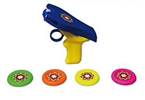 Diverse NB-743060-0050 TTC Toy Fun 0020060 - Pistola de Disparo con 4 Discos