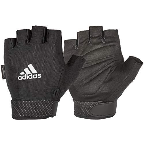 Adidas Essential Guantes Ajustables, Unisex-Adult, L