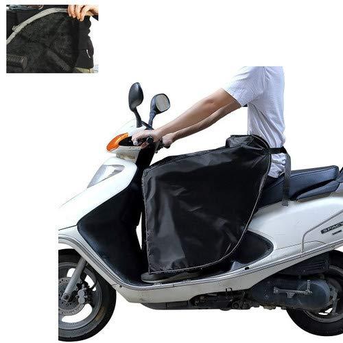 AM47 COPRIGAMBE UNIVERSALE SCOOTER COMPATIBILE CON MOTO B MODENA 125 PARANNANZA ANTI PIOGGIA VENTO IMPERMEABILE FELPATO NERO IDROREPELLENTE COPRI GAMBE PARA ACQUA