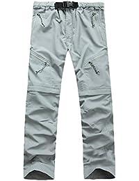 Kunfang Exterior Deportes Pantalones Casuales de Secado rápido Hombre Pantalones  de Secado rápido Mujer Pantalones de 42ef767d1a5