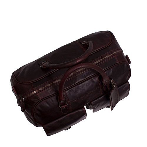 The Chesterfield Brand William Weekender Borsone pelle 45 cm brown