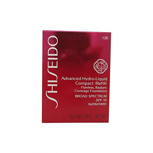 Shiseido Foundation femme/woman, Advanced Hydro-Liquid Compact Refill Nummer I20 Natural Light Ivory, 1er Pack (1 x 12 ml) (Advanced Foundation)