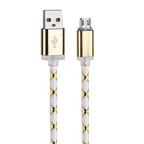 Valentinstag beste geschenk !!! beisoug led-licht micro usb ladegerät kabel schnell ladekabel für android telefon