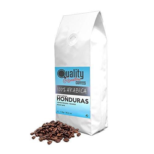 Café en grano natural. 100% Arabica. Origen único Honduras, 1kg. Tostado artesanal.