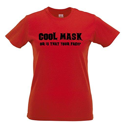 Coole Maske oder ist das Ihr Gesicht? Lustige -