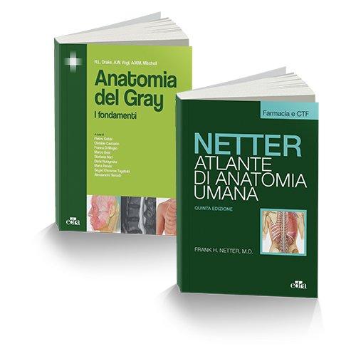 Anatomia per Farmacia. Atlante anatomia umana. Selezione tavole per farmacia e CTF-Anatomia del Gray. I fondamenti