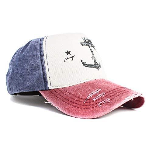 Selldorado Modernes & Stylisches Baseball Cap Im Angesagten Vintage Style Passend Zu Jedem Outfit (Blau)