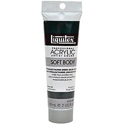 Liquitex Acrílico Profesional Soft Body, Tubo 59 ml, Verde ftalocianina (matiz Azul)