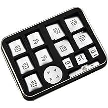 Asiright - Juego de 14 botones para interruptor de ventana, para Mercedes- Benz GLA