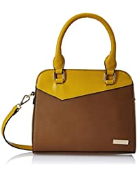 Global Desi Women's Shoulder Bag (Ochre Yellow)