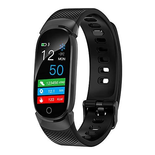 QiyuanLS Fitness Tracker Smart Watch Aktivitätstracker Sportband Armband Wasserdichtes Bluetooth-Armband mit Pulsmesser Schrittzähler Schlaf Monitor Kalorien Schrittzähler Blutdruck