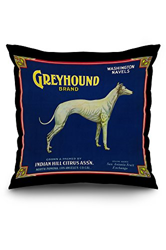 north-pomona-california-greyhound-brand-citrus-label-20x20-spun-polyester-pillow-case-black-border