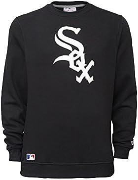 New Era Ne92232Fa15 Nos Crew Chiwhi - Felpa-Linea Chicago White Sox da Uomo, colore Nero, taglia 3XL