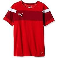 Puma T-Shirt Spirit II para el Deporte, Rojo - White, 140, 654655 01