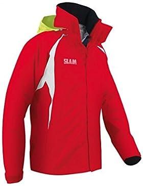 Slam Force 1chaqueta, 10.000mm impermeable, 100% Nylon, Rojo