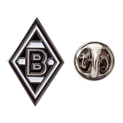Borussia M/önchengladbach Edelaufkleber Raute Silber 22x35 cm VFL