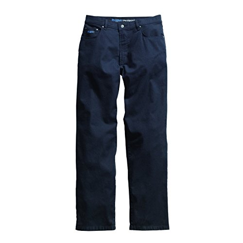 PIONIER WORKWEAR Herren Stretch-Garbardine-Jeans in marineblau (Art.-Nr. 8350) marine,Größe 26