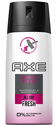 AXE Deospray Anarchy for Her ohne Aluminium 150 ml, 3er Pack (3 x 150 ml) (Axe Body Spray Deodorant)