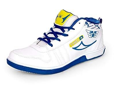 Touchwood Men's Stargrip White Sports Running Shoes-6 UK