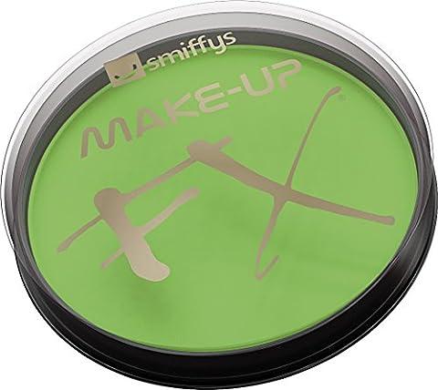 Smiffys Déguisement, Maquillage FX, Peinture à l'eau pour le visage et le corps, Citron vert, 16 ml, À base d'eau,