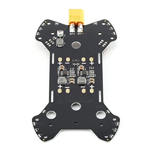 Leoboone Robocat PDB Energieverteiler W / 5V 12V BEC Bauen in / Mit Power Filter XT60 Stecker Verlötet Für Robocat 270mm Rahmen (Power Line Filter)